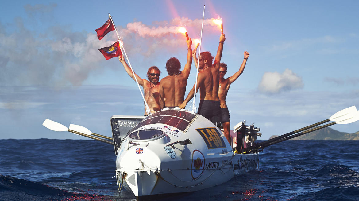 Atlantic Challenge: The World's Toughest Rowing Race